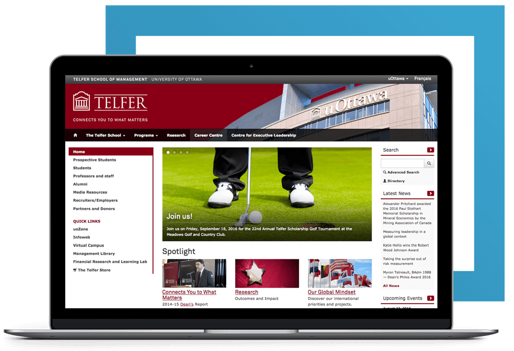 CakeDC - Telfer School of Management, University of Ottawa